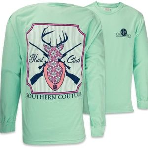 Southern Couture Hunt Club Shirt NWOT